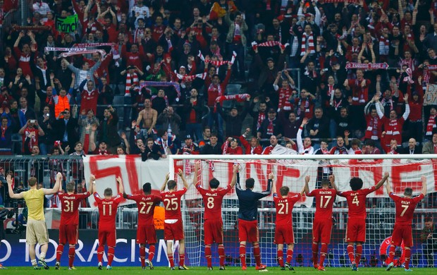Bayern de Munique x Barcelona (Foto: Reuters)