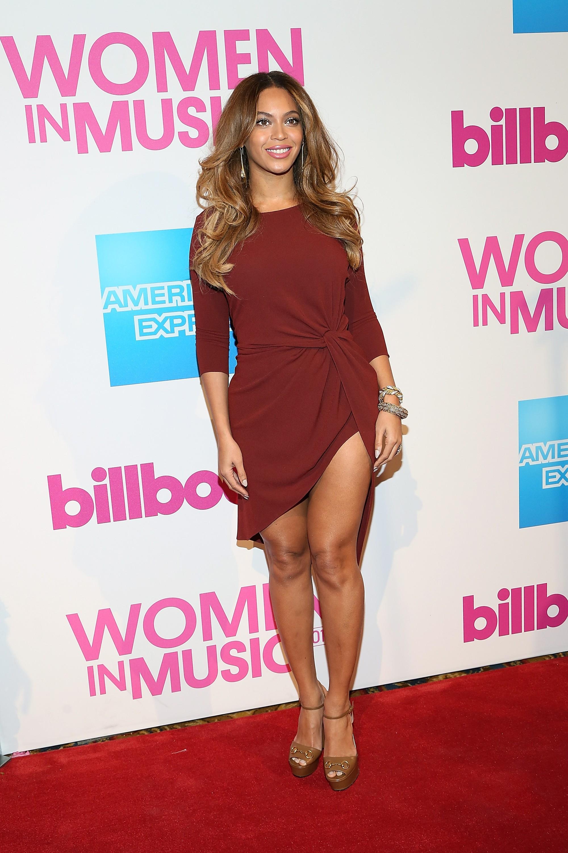 A cantora é mãe da pequena Blue Ivy, fruto de seu casamento com rapper Jay Z. (Foto: Getty Images)