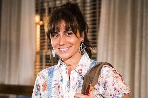 Giovanna Antonelli, a Clara de 'Em família' (Foto: João Miguel Júnior/TV Globo)