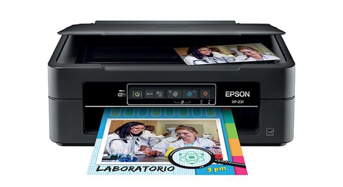 Modelo da Epson tem tecnologia wireless e é uma jato de tinta com cartuchos individuais (Foto: Divulgação/Epson)