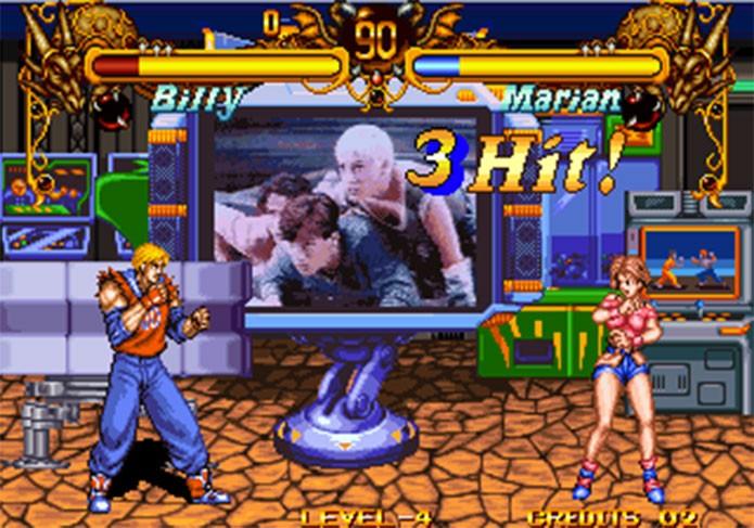 Spin-off de luta imitava filme de Double Dragon (Foto: Reprodução/Arcade Memory)