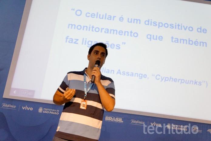 Tema como computaão da nuvem e outros serviços digitais também foram abordados na Campus Party (Foto: Melissa Cruz/TechTudo)