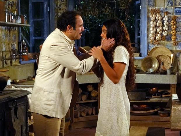 Gabriela volta atrás e aceita se casar com Nacib (Foto: Gabriela / TV Globo)