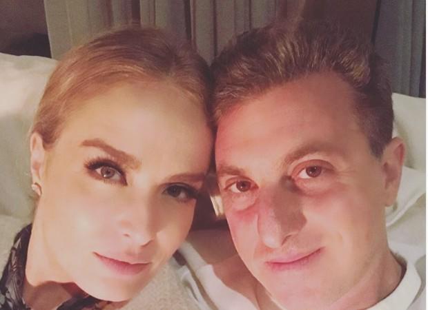 Angélica e Luciano Huch (Foto: Reprodução/instagram)