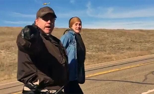 Shailene Woodley é presa em protesto nos EUA (Foto: Reprodução/Facebook/Shailene Woodley)