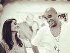 'Estamos superfelizes', diz Adriano sobre gravidez da noiva