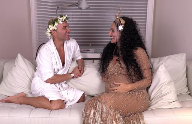 Matheus Mazzafera e Débora Nascimento (Foto: reprodução)