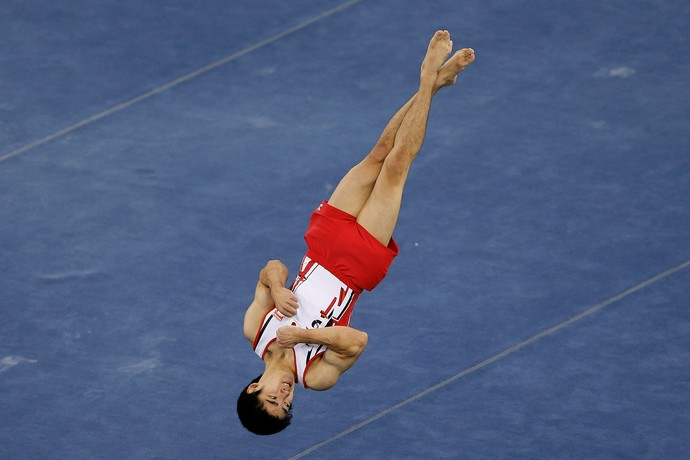 Kenzo Shirai é estrela do Mundial de Glasgow (Foto: Getty Images)