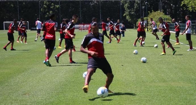 Treino São Paulo (Foto: Rubens Chiri / site oficial do São Paulo FC)