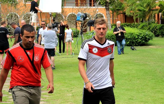 Toni Kroos e Howedes alemanha coletiva (Foto: Sergio Gandolphi)