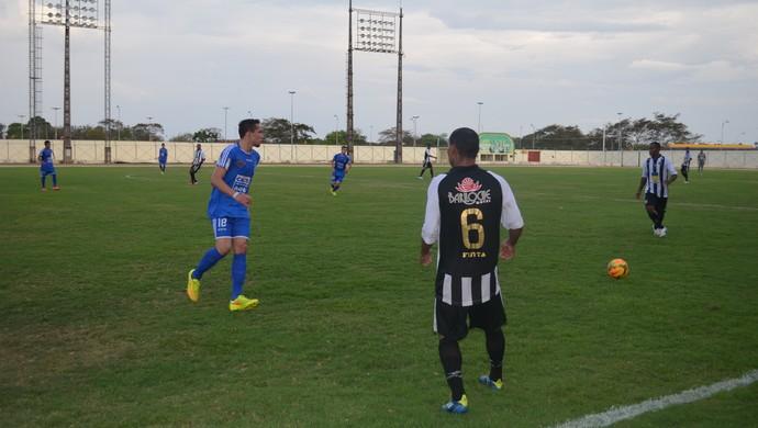 Santos jogo treino (Foto: Jonhwene Silva/GE-AP)