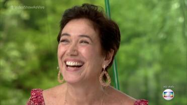 Lilia Cabral revisita carreira no 'Meu Vídeo é Um Show'