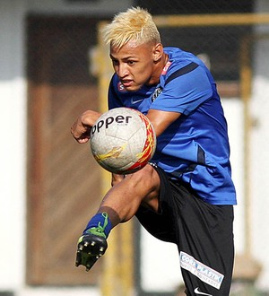 Neilton Santos (Foto: Pedro Ernesto Guerra Azevedo/Divulgação Santos FC)