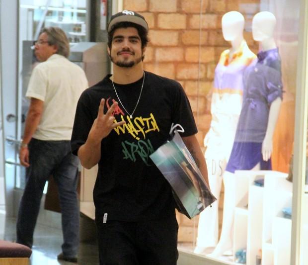 Caio Castro (Foto: Marcus Pavão/AgNews)