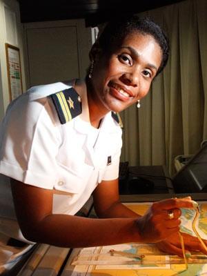 Vanessa Cunha dos Santos Silva, imediata do Rômulo Almeida (Foto: Divulgação/Renata Mello/Transpetro)