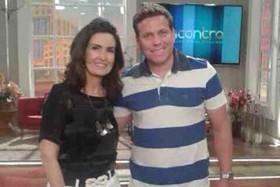 Danilo Alves e Fátima Bernades (Foto: Arquivo Pessoal)