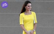 Look do dia: Kate Middleton sai do básico em visita à Austrália