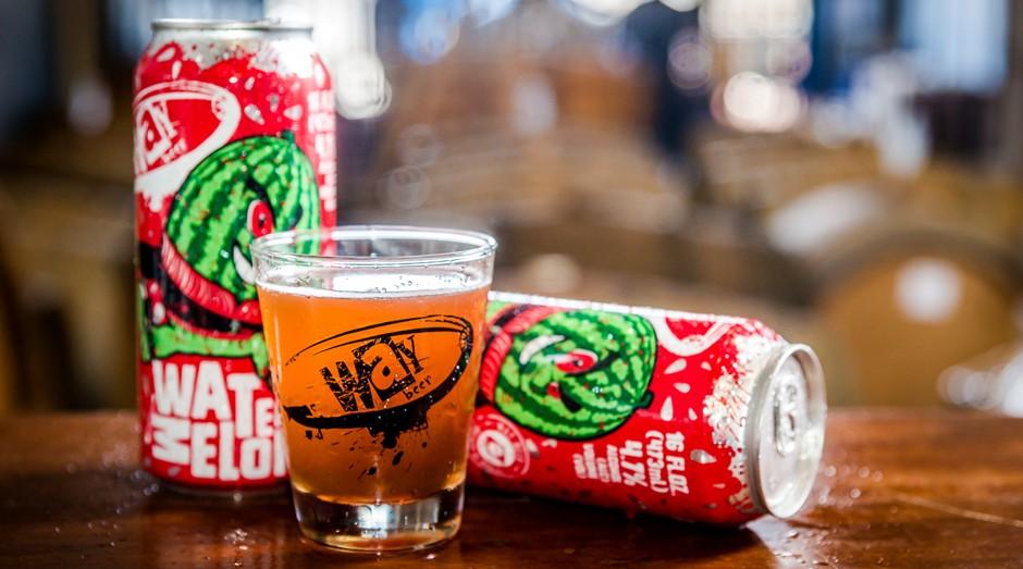 Cerveja de melancia da Way Beer (Foto: Divulgação)