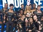 Fernanda Lima usa botas de R$ 10 mil na reestreia de 'Amor & Sexo'