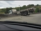 Acidente entre oito veículos na BR-232 deixa quatro pessoas feridas