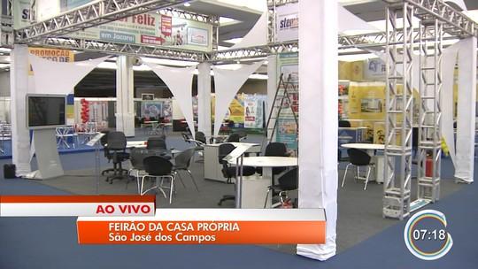Feirão da Caixa oferece mais de 5 mil imóveis no Vale do Paraíba