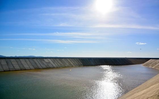 Projeto de integração do Rio São Francisco. (Foto: Ministério da Integração Nacional/Divulgação)