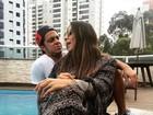 Thammy Miranda e Andressa Ferreira posam juntinhos: 'Cumplicidade'