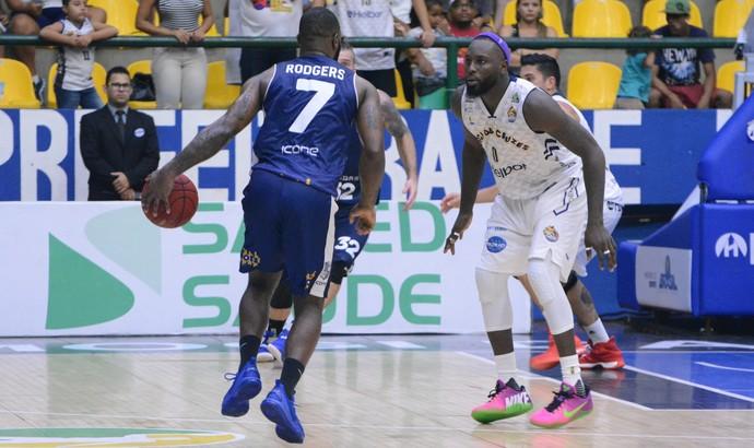 Mogi das Cruzes x Minas NBB basquete (Foto: Cairo Oliveira)