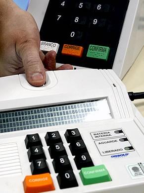 Urna Biométrica Biometria (Foto: Agência TSE)