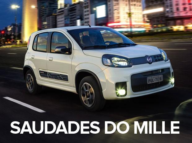 carros mais vendidos por estado 2015 - uno (Foto: Divulgação)