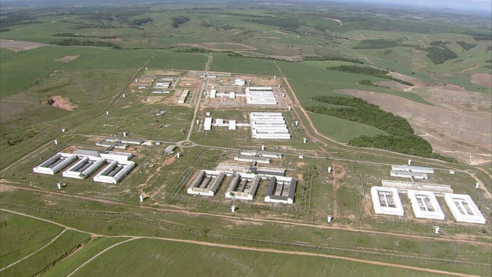 Presídio de Itaquitinga, em Pernambuco (Foto: Reprodução/TV Globo)