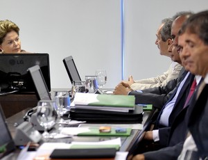 A presidente Dilma comandou a primeira reuni&#227;o do Conselho dos Jogos Rio 2016 (Foto: Ag&#234;ncia Brasil)