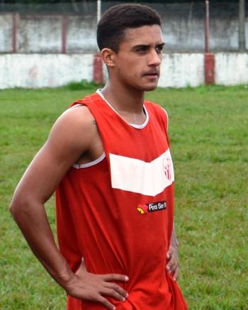 Caio César, volante do Rio Branco-AC (Foto: Duaine Rodrigues)