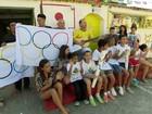 Morador de Campo Grande, no Rio, enfeita a casa com temas olímpicos