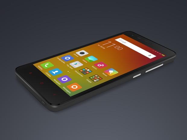 Redmi 2 é o primeiro aparelho da Xiaomi lançado no Brasil, por R$ 500 (Foto: Divulgação)