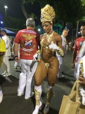 Rosi Barreto, Musa da União da Ilha (Foto: EGO)