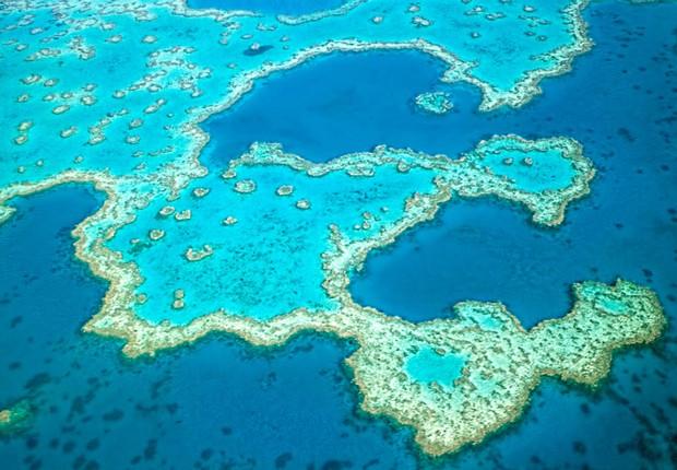 Grande Barreira de Corais na Austrália (Foto: Divulgação)