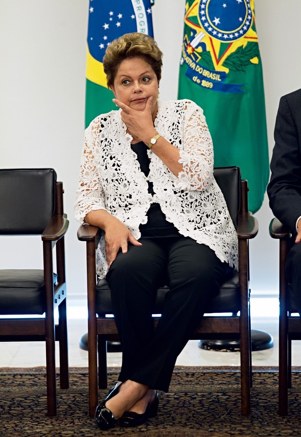 Dilma Rousseff (Foto: Ed Ferreira/Estadão Conteúdo)