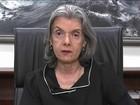 Ministra Cármen Lúcia pede serenidade e respeito às opiniões