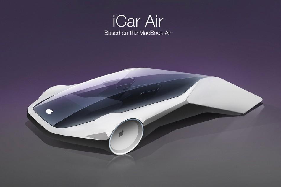 iCars, os carros inspirados na Apple (Foto: Reprodução/ClickMechanic)