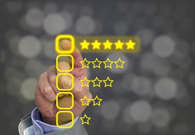 avaliação, cinco estrelas, experiência de consumo (Foto: ThinkStock)