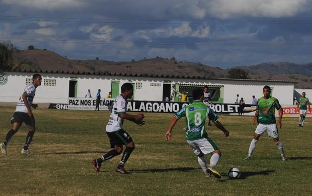 União 0 x 1 Murici (Foto: Jailson Colácio/Divulgação Murici)