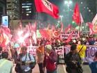 Manifestantes protestam em nove estados contra Temer
