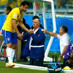 Fred Alemanha x Brasil, Mineirão (Foto: Reuters)