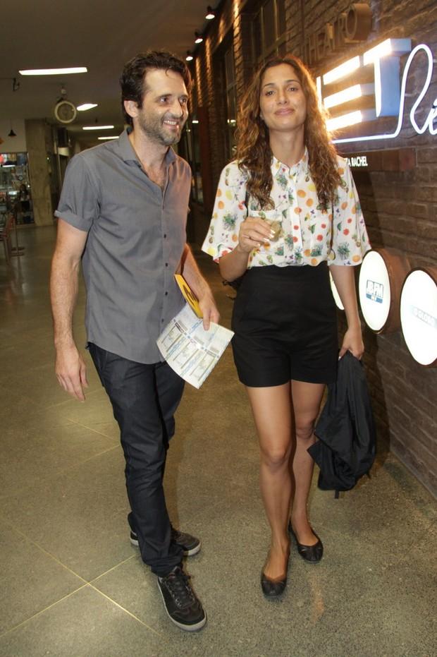 Camila Pitanga e Sergio Sivieiro (Foto: PhotoRioNews)