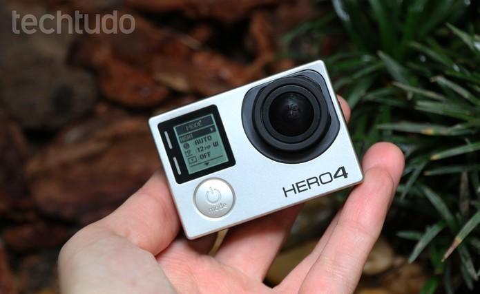 Próxima GoPro chega até o fim do ano com o nome de Hero5 (Foto: Luciana Maline/TechTudo)