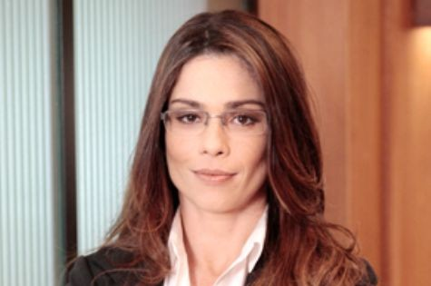 Thalita Lippi como Lucilene em 'Guerra dos sexos' (Foto: TV Globo)