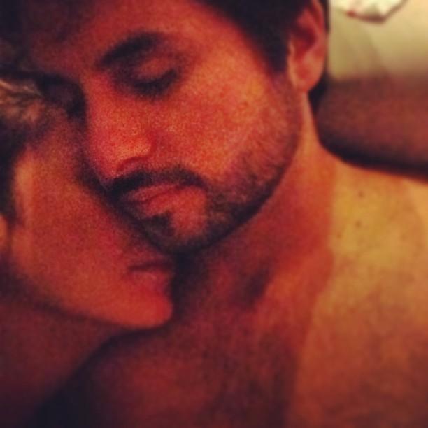 Claudia Leitte e o marido (Foto: Reprodução/Instagram)