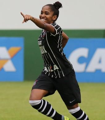 Chú atacante Corinthians futebol feminino (Foto: Marcos de Paula/AllSports)