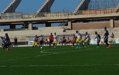 Time baiano das poucas vezes que chegou perto do gol do Pantera levou perigo (Foto: Sabrina Rabelo/GloboEsporte.com)